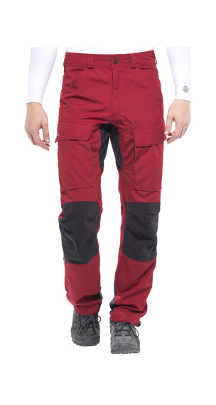 Lundhags Authentic - Pantalon Homme - long rouge
